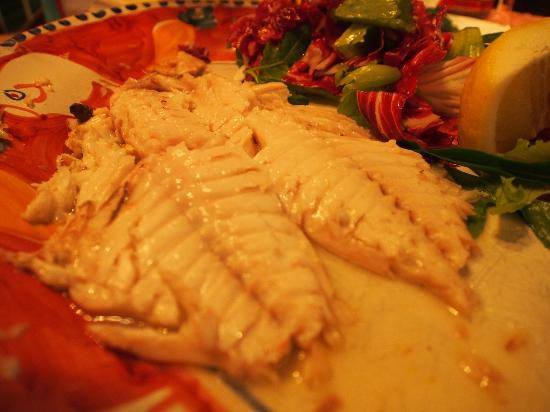 Hotel Buca di Bacco: Grilled catch of the day