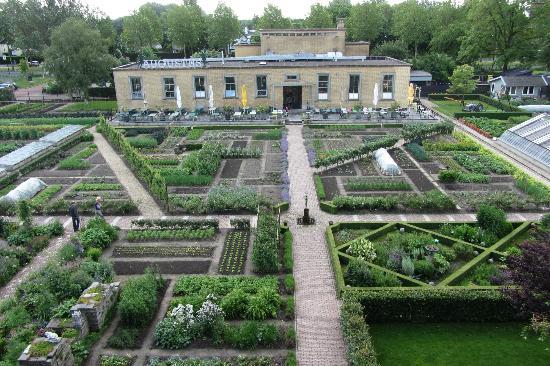 Villa Augustus: The vegetable garden