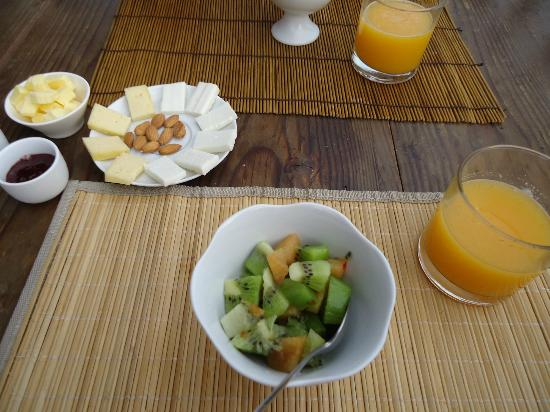 Hotel Fauna: breakfast
