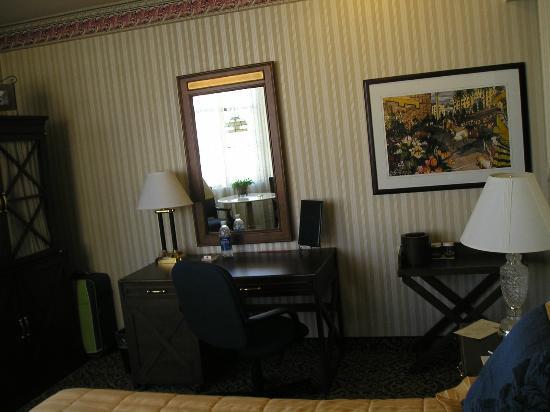 Carriage Inn: Habitación.