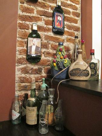 Apassionata-Tango: Detalhe do quarto Tango Bar - 2011