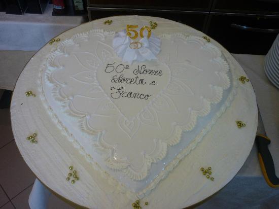 Locanda Martina: Torta Nuziale