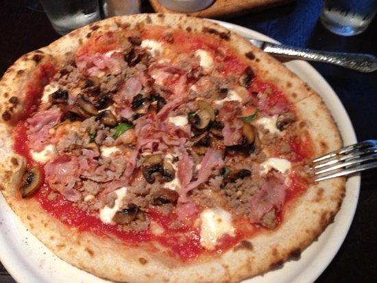 Pizzeria Mimosa: Casanova pizza