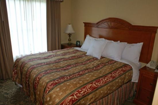 Homewood Suites by Hilton Asheville- Tunnel Road: Our king size bed