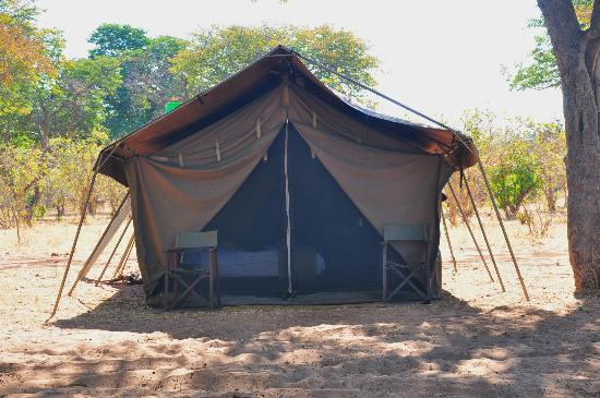 andBeyond Chobe Under Canvas: Tent