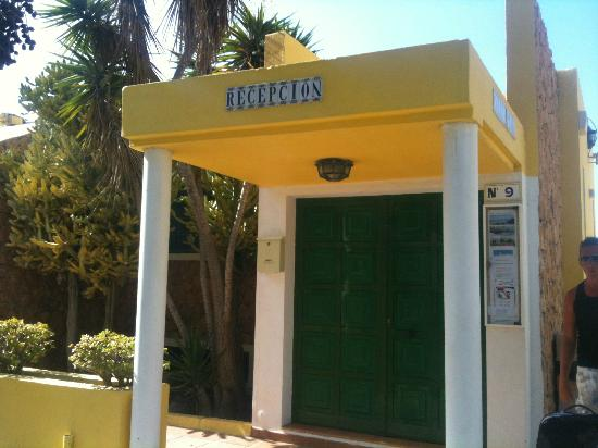 Caleta Playa Apartments: reception