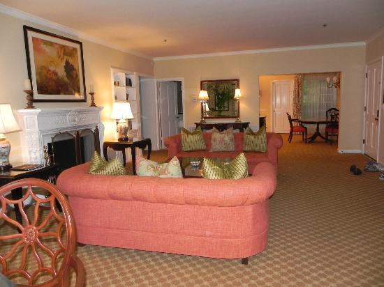the covered patio picture of the langham huntington pasadena los