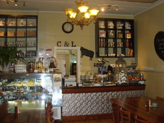 Say Grace Cafe & Larder: Inside Say Grace