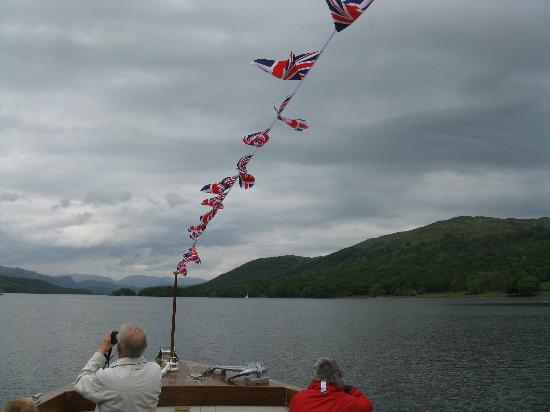 Coniston Water, looking north from the boat.