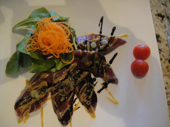 Windermere House Resort & Hotel: Tiger Tuna Appetizer (Get It!!)