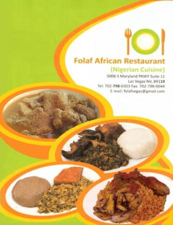 Menu list picture of nigerian cuisine by folaf las for African cuisine restaurant