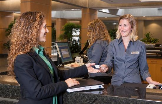 West Coast Suites at UBC: Front Desk and Reception