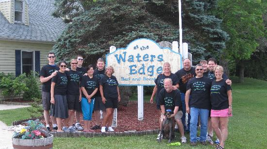at the Waters Edge: The Groupshot