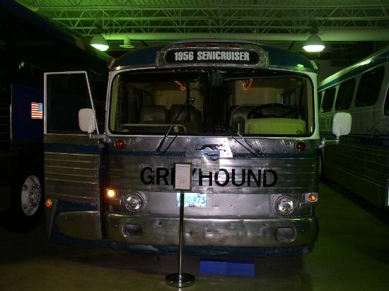 Greyhound Bus Museum: Greyhound buses from all eras