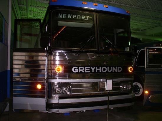 Greyhound Bus Museum: 1982 MCI MC-9 motorcoach