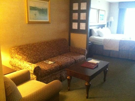 BEST WESTERN PLUS Vineyard Inn & Suites: seating area near door