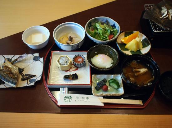 Hoshino Resorts KAI Matsumoto: 朝食