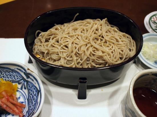 Hoshino Resorts KAI Matsumoto: 〆は信州蕎麦