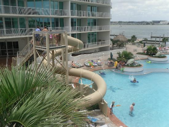 Caribe Resort: Water slide.