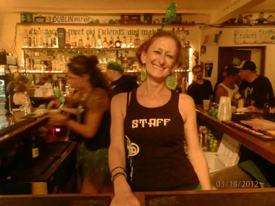 Shamrock Irish Pub & Lounge : Sharon Bell (owner)