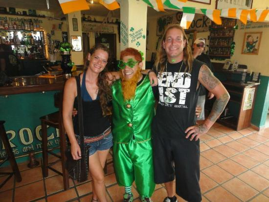 Shamrock Irish Pub & Lounge : Our Leperchaunt!!
