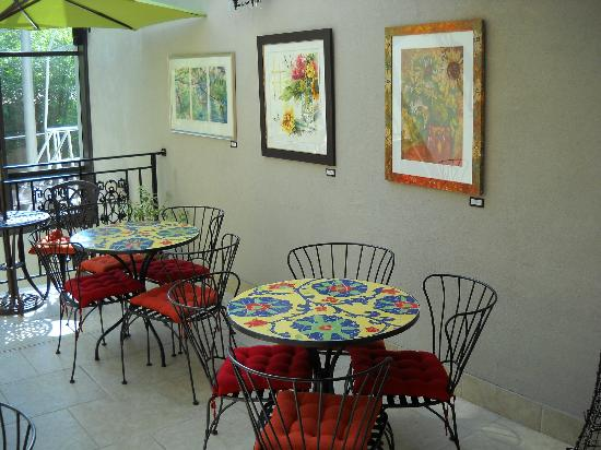Camas Hotel: Breakfast room