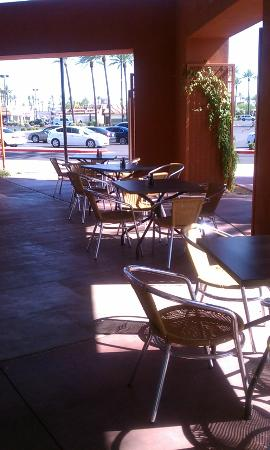 YC's Mongolian Grill: Outdoor Seating