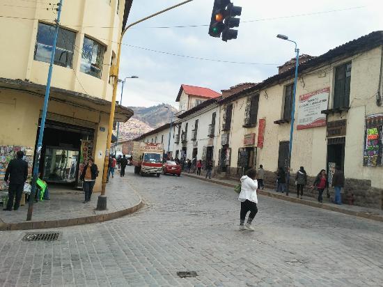 Chicharroneria Cuzco: Locate at the conjunction of Ave Martas & Guera