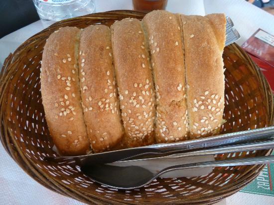 Pizza Subito: Fresh bread