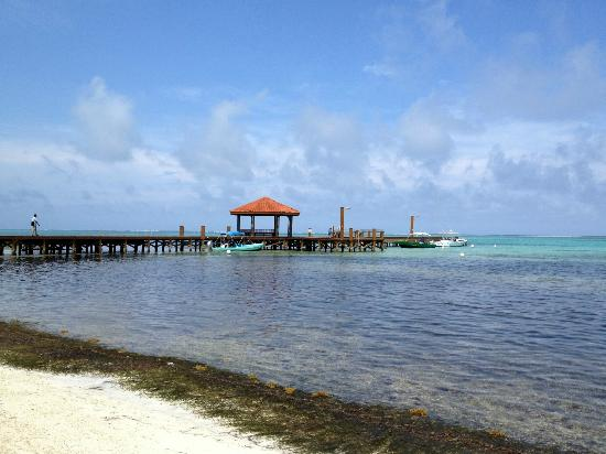 Grand Caribe Belize Resort and Condominiums: water/dock view