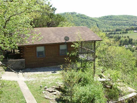 Arkansas White River Cabins: Cliffside Cabin