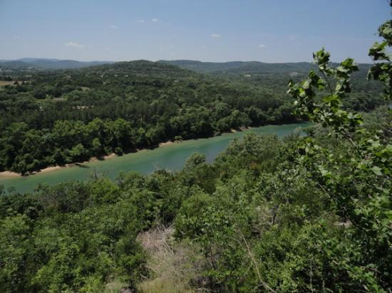 Arkansas White River Cabins: Daytime River