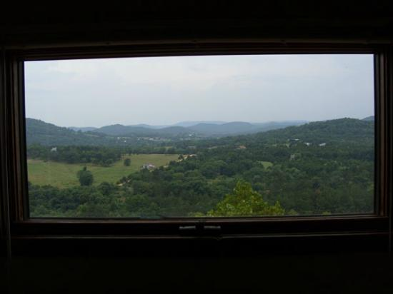 ‪‪Arkansas White River Cabins‬: Hideaway Window View‬