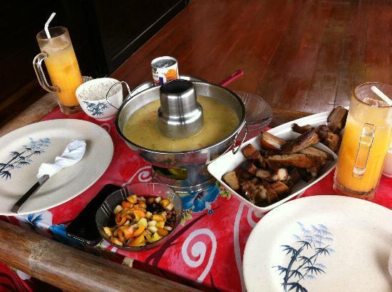 Anino Kite Retreat: food