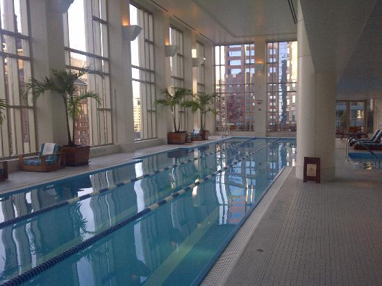 The indoor pool area - Picture of The Peninsula Chicago, Chicago ...