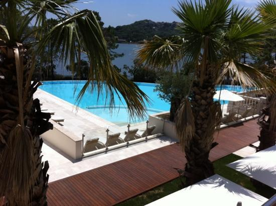 Hotel Don Cesar: Piscine vue de la chambre