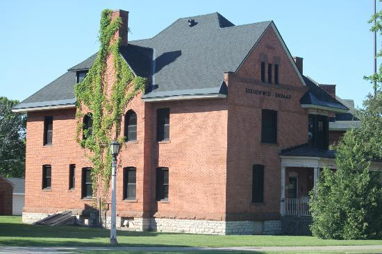 Lake Superior State University: One of the many historic building on campus