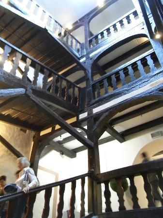 Museum Schloss Fuerstenberg: Knarrendes Treppenhaus