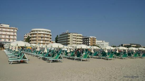 Beach Hotel Apollo : Пляж
