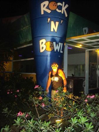 San Antonio Resort : Bowling center at resort - fun