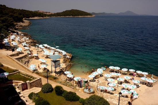 Veli Lošinj, Kroasia: Beach