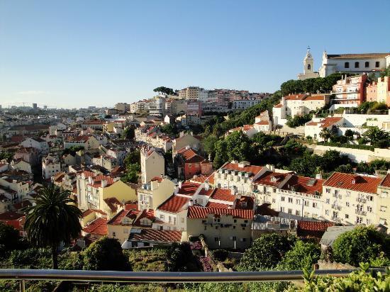 Olissippo Castelo: Vue de la Terrasse