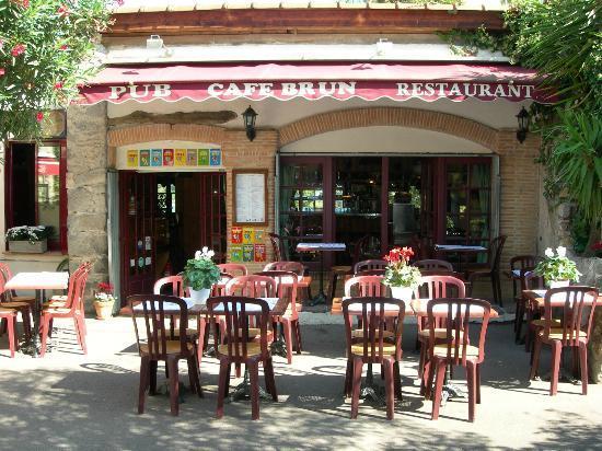 Restaurant Le Cafe Brun Biot