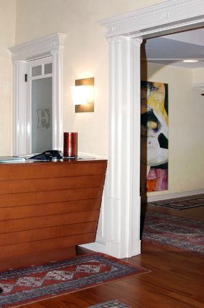 Hotel Agathae : hall