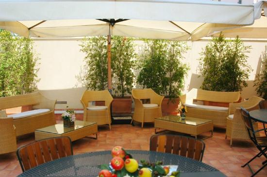 Hotel Agathae: terrazzo