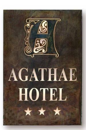 Hotel Agathae : insegna