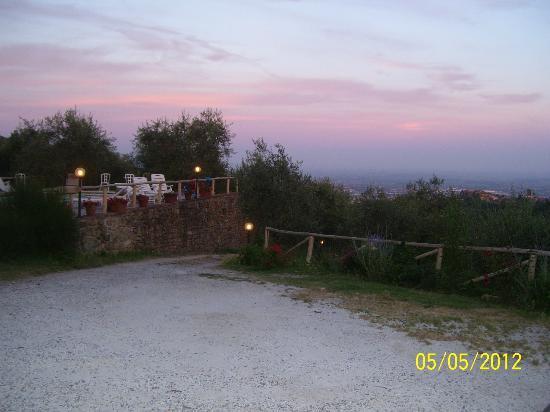 Villa La Fagianaia: tramonto...