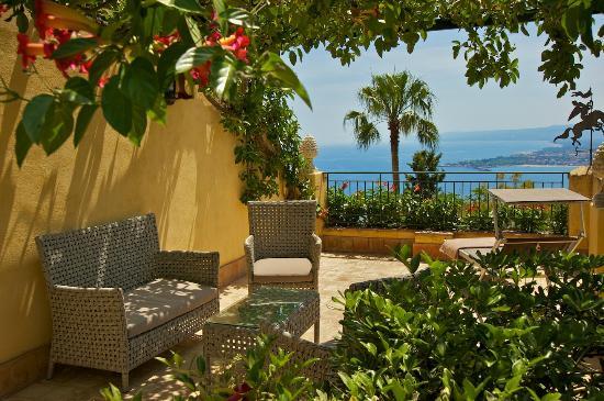 terrazza - Foto di Hotel Villa Belvedere, Taormina - TripAdvisor