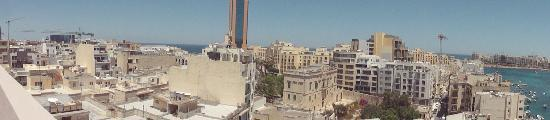 Argento Hotel: View from the roof
