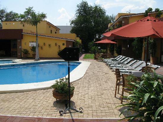 Hacienda La Noria: Вид на бассейн